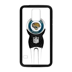 Blue Jacksonville Jaguars Custom Case for Samsung Galaxy S5 (Laser Technology)