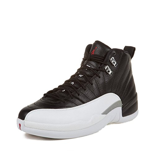 online store 14123 a4932 Nike Air Jordan 12 Retro XII Playoffs White Black Red 2012 QS 130690-001   US size 8