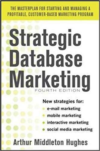 [0071773487] [9780071773485] Strategic Database Marketing 4 Edition - Hardcover