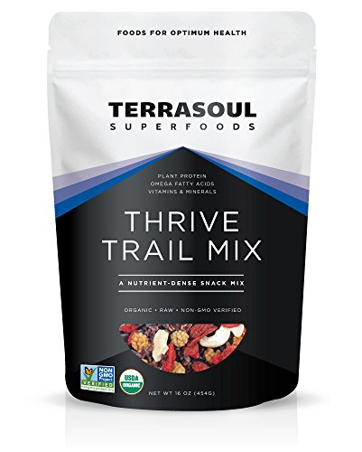 Terrasoul Superfoods Organic Thrive Trail Mix, 16 Ounces