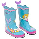 KIDORABLE Toddler/Little Kid Mermaid Rainboot