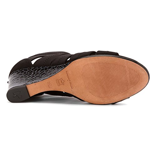 Donald J Pliner Donna Jada Open Toe Sandali Piattaforma Casual Neri
