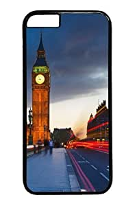 Custom DIY Case for iPhone 4 4s, Big Ben Uk London City Street Hard PC Back Protective Case for iphone 4 4s