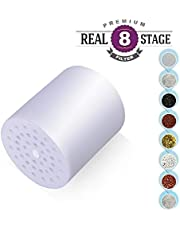 Shower Filter Replacement Cartridge for High Output Universal Shower Filter Let Your Hair and Skin Healthier 8-Stage
