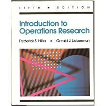 Amazon hillier and lieberman books introduction to operations research fifth edition fandeluxe Image collections