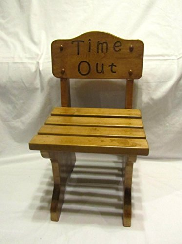 (Personalized Children's Chair- Custom Engraved Time Out)