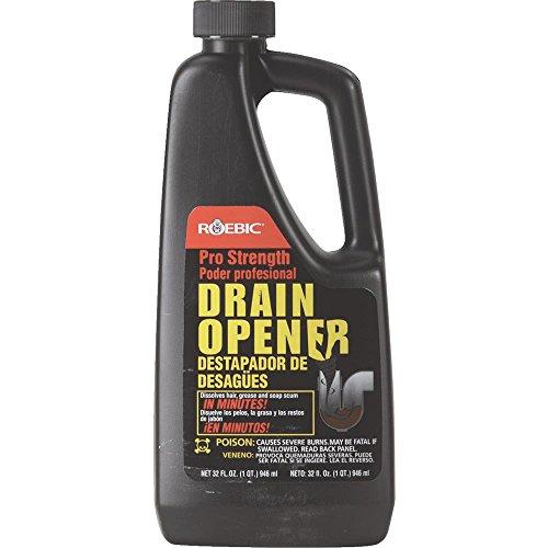 Drain Opener Liquid Professional, Quart
