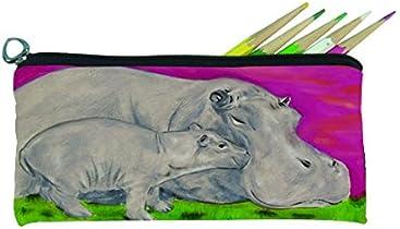 8eec0d28bcb3 Salvador Kitti Small Pencil Bag (Hippo-Communical Clan)