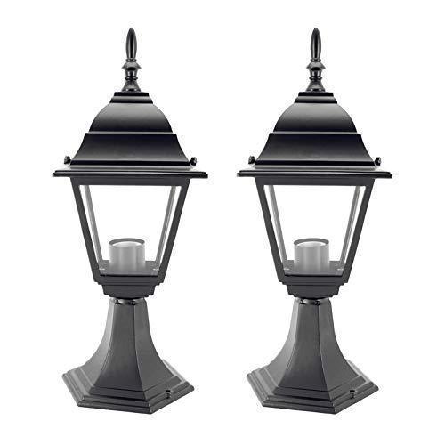 Contemporary Outdoor Column Mount Lighting in US - 8