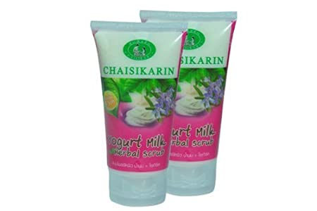 Spa Herbal Yoghurt Milkscrub Skin Thai 2 Tupes. 440 G