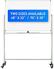 """Rolling Whiteboard - 48"""" X 32"""" 
