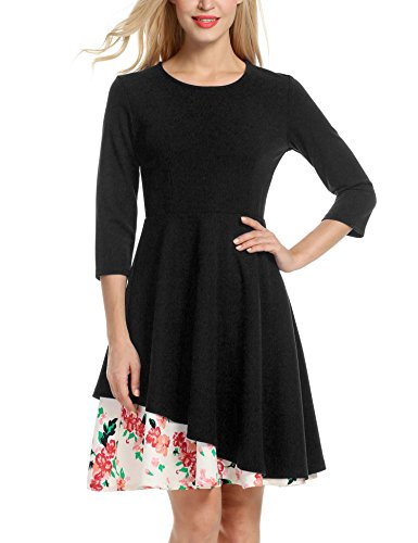 ANGVNS Womens Sleeve Wedding Cocktail