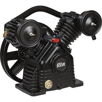 a266f055a786 NorthStar Air Compressor Pump 1-Stage, 2-Cylinder, 13.7 CFM @ 90 PSI