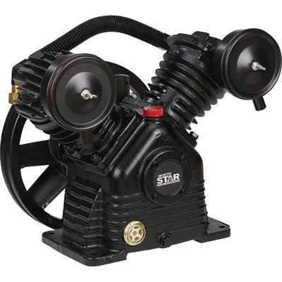NorthStar Air Compressor Pump - 1-Stage, 2-Cylinder, 13.7 CFM at 90 PSI