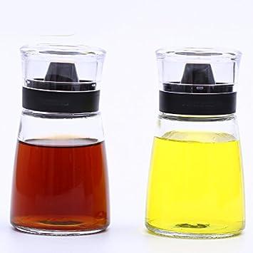 Bottiglia in vetro per olio, aceto, sale e pepe 2/group