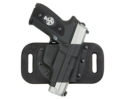 CrossBreed SnapSlide Holster for S&W Shield 9/40, RH, Black Leather