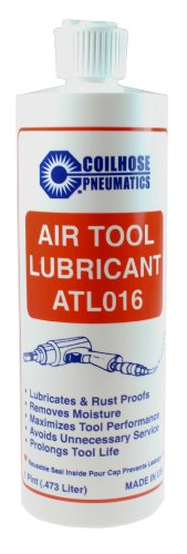 Coilhose Pneumatics ATL016 Air Tool Lubricant, 16-Ounce Bottle