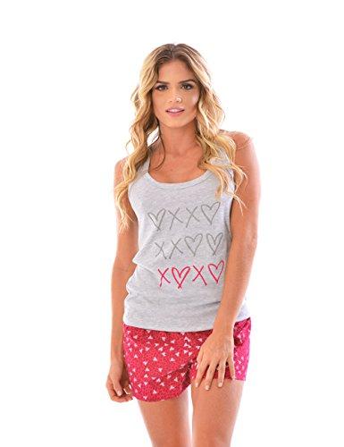 Bella Mimosa Women's Pajama Pants & Cami SET / 2 Piece Pajama (Womens Cami Top Pants)
