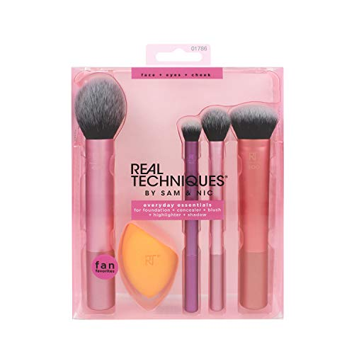 Thing need consider when find real techniques eye brushes set?