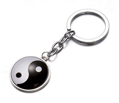 Key Chain, Nodykka Yin Yang Unisex Bag Handbag Backpack Pendant Charms Accessories Yin Yang Bag