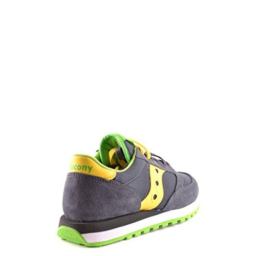 Saucony Jazz Original unisex erwachsene, wildleder, sneaker low Dark Grey/Yellow