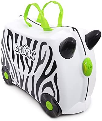 Trunki Original Kids Ride On Suitcase And Carry On Luggage Zimba