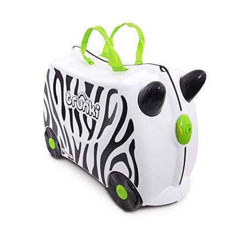 Mala Infantil, Trunki, Zebra, Branco