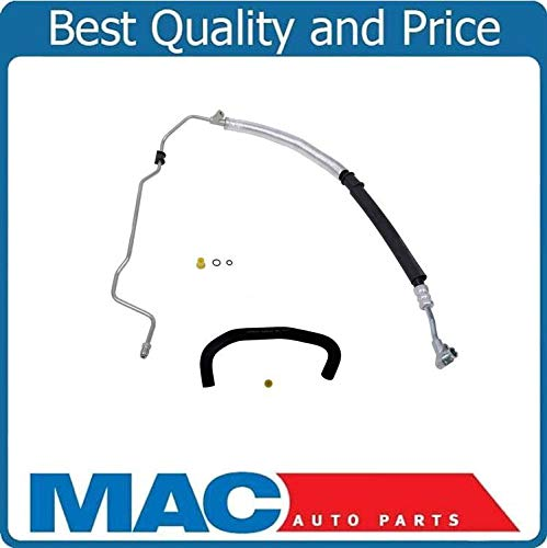 2Pc Kit New Power Steering Pressure Line Hose Fits For 03-07 V6 3.0 Honda Accord