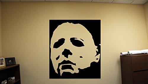 Advanced store Michael Myers Dead Horror Vinyl Wall Decals Halloween Decor Stickers Vinyl Mural MK3386