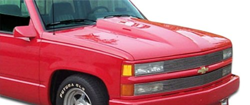 K1500 Pickup Hood - Duraflex ED-RHG-559 Cowl Hood - 1 Piece Body Kit - Compatible For Chevrolet C/K Series Pickup 1988-1999