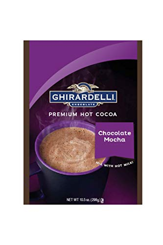Ghirardelli Hot Chocolate Mocha Pouch, 10.5 Ounce ()