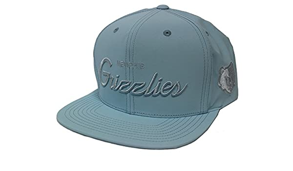 e60a3ce6ad1 Mitchell   Ness 3M Crown   Visor Tonal New Memphis Grizzlies Light Blue  Snapback at Amazon Men s Clothing store