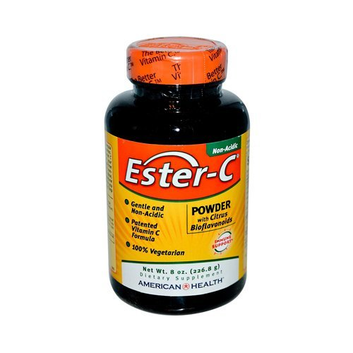 American Health Ester-C Powder with Citrus Bioflavonoids - 8 oz by American Health by American Health
