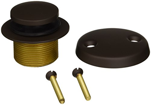 Brasstech 274/10B Two-Hole Toe-Activated Drain Kit, Oil Rubbed Bronze ()
