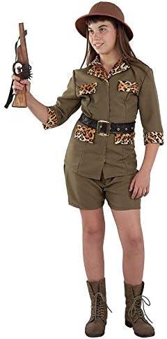 DISBACANAL Disfraz Exploradora Safari niña - -, 6 años: Amazon.es ...