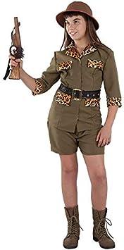 DISBACANAL Disfraz Exploradora Safari niña - -, 6 años: Amazon ...