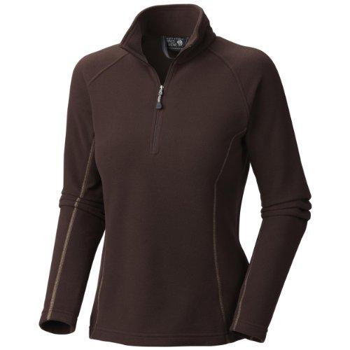 Mountain Hardwear Microchill Zip T-Shirt, Bark, ()