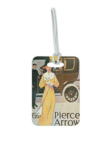 The Pierce Arrow Vintage Auto Poster #2 Luggage Tag Finder Brief - Pierce Bf