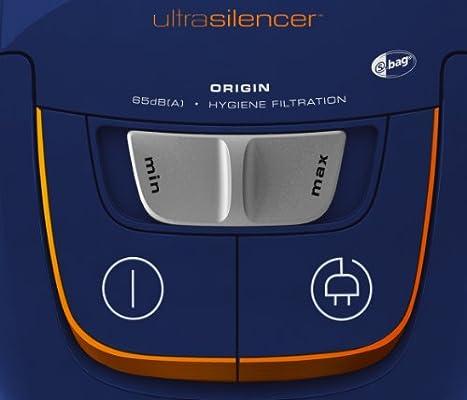 Electrolux UltraSilencer Origin – Aspirador silencioso con bolsa y cepillo AeroPro Parketto Pro, color azul: Amazon.es: Hogar