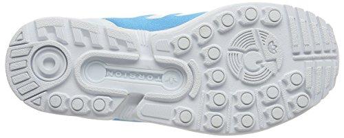 Adidas Zx Flux Em Vrouwen Sneakers Blauw Blauw