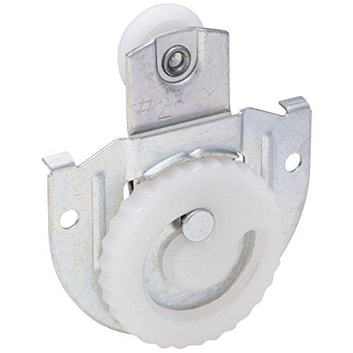 Plated Hanger Pocket Door Hardware (National Hardware N344-853 V794 Sliding Door Hangers in Zinc plated, 2 pack)