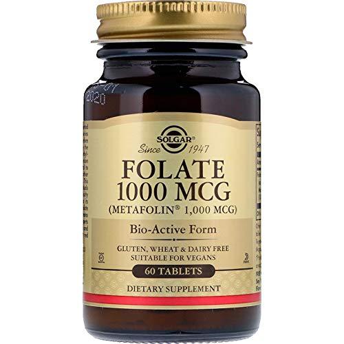 Solgar, Folate 1000mcg As Metafolin, 60 Count