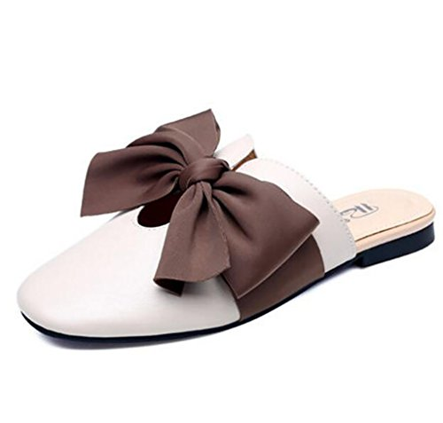 Comfortable B Sandals Women A Sandals sandals Flat Fashion Slippers Baotou Size 40 Flat Sandals Slippers Color 7qxwUqdrg