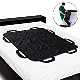 KIKIGOAL Heavy Duty Patient Positioning Sheet for Lifting, Turning and Transfer, Reusable, Washable