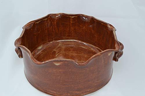 Handmade Stoneware Casserole Baking Dish