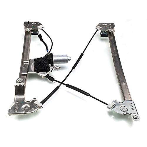(Power Window Lift Regulator with Motor Assembly Front Left Driver Compatible for 2004-2008 Ford F-150 Crew Standard Cab & 2006-2008 Lincoln Mark LT )