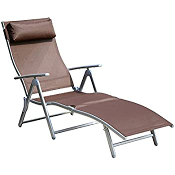 indoor chaise lounge chairs for sale folding chair walmart patio cheap this item reclining cushion brown silver
