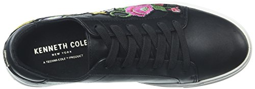 Media Floreale York New Donne Ricamato Kam Allacciata Nero Di Kenneth Sneaker Cole 10 7qIaT