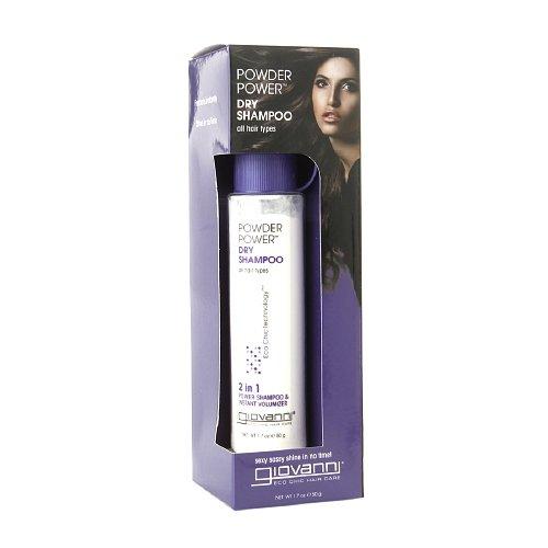 Giovanni Cosmetics Shampoo Powder Dry Shampoo 1.7 Ounce, 2 P