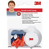 3M 90716-80025T Corded Reusable Earplug, 3-Pair with Case